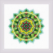 Cross stitch kit Self-knowledge Mandala - RIOLIS