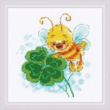 Cross stitch kit Lucky Clover - RIOLIS
