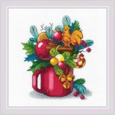 Cross stitch kit New Year's Aroma - RIOLIS