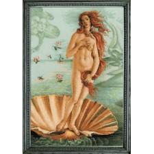 Cross stitch kit The Birth of Venus after S.Bottichelli's Painting - RIOLIS