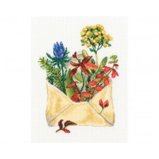 Cross stitch kit Letter from the Forrest - RTO