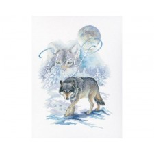Cross stitch kit Wolf - RTO