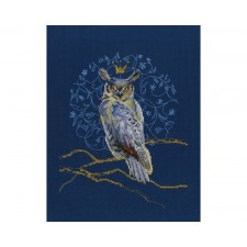 Cross stitch kit King Eagle Owl