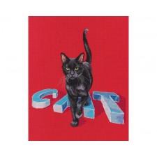 Cross stitch kit Cat - RTO