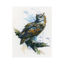 Cross stitch kit Eagle Owl - RTO