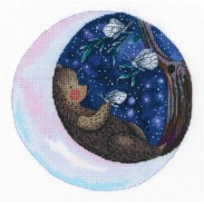 Cross stitch kit Tender fairy tales of the stars
