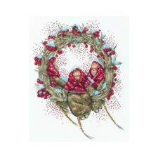 Cross stitch kit Snegirini - RTO
