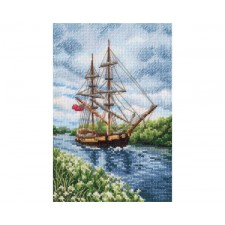 Cross stitch kit With the Flavor of Salt, Wind and Sun - RTO