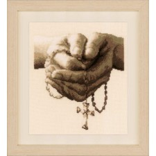 Counted cross stitch kit Praying