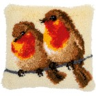 Latch hook cushion kit Robins