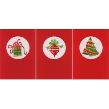 Greeting card kit Christmas set of 3