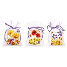 Bag kit Summer flowers set of 3