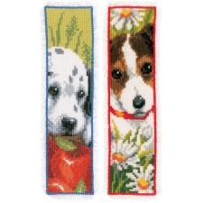 Bookmark kit Dogs set of 2