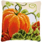 Cross stitch cushion kit Pumpkins