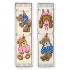 Bookmark kit Birth bears set of 2