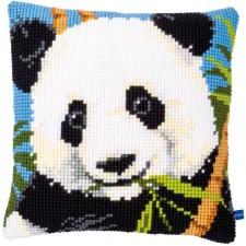 Cross stitch cushion kit Panda