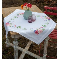 Tablecloth kit Flowers & butterflies