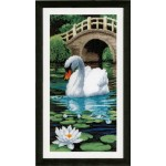 Counted cross stitch kit Swan