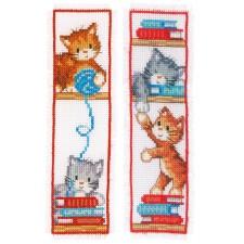 Bookmark kit Playful kittens set of 2