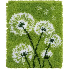 Latch hook rug kit Dandelion