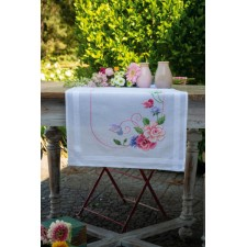 Table runner kit Flowers & butterflies