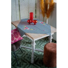 Tablecloth kit Colourful flowers