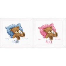 Counted cross stitch kit Sweet bear
