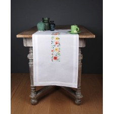 Table runner kit Fresh flowers