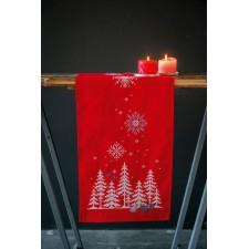 Table runner kit Christmas trees & forest animals