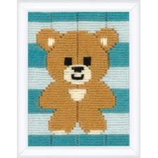 Long stitch kit Little bear