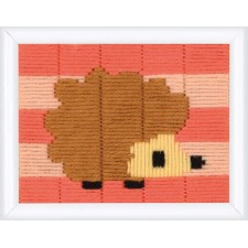 Long stitch kit Little hedgehog