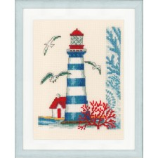 Counted cross stitch kit Lighthouse