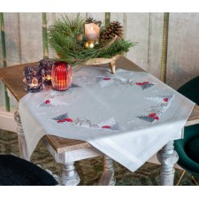 Tablecloth kit Winter Christmas landscape