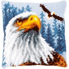 Cross stitch cushion kit Eagle