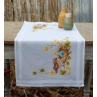 Table runner kit Little bird in nest