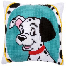 Cross stitch cushion kit Disney Dalmatian
