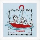 Counted cross stitch kit Disney Dalmatians