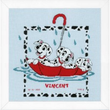 Counted cross stitch kit Disney Dalmatians
