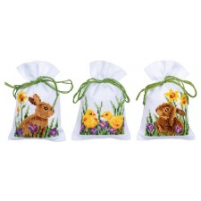 Bag kit Rabbits with chicks set of 3