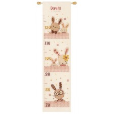 Counted cross stitch kit Sweet bunnies