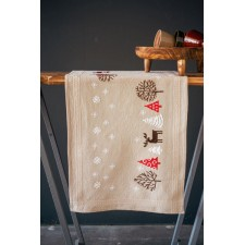 Table runner kit Modern Christmas designs