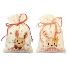 Bag kit Sweet bunnies set of 2