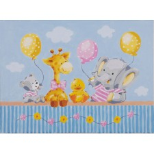 Paint by Number kit Baby shower