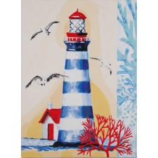 Paint by Number kit Lighthouse