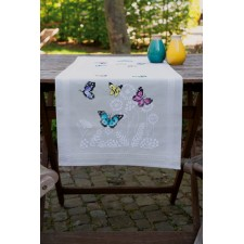 Table runner kit Butterfly dance
