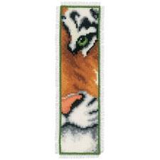 Bookmark kit Tiger