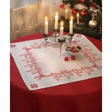 Tafelkleed dansende kerstmannen - Dancing Santas Tablecloth