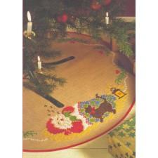 Kerstkleed slapende Santa - Sleeping Santa Carpet