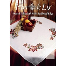 Fleur de Lis: Herfst tafelkleed - Autumn Tablecloth