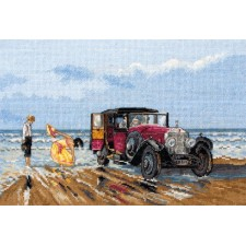 Rolls Royce op het strand - Vintage Rolls on the Beach